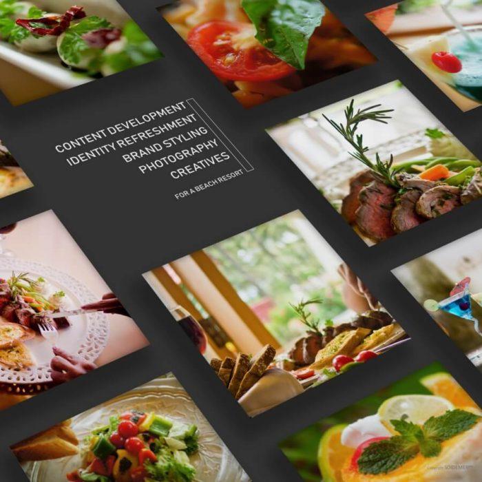 Photography and Design Creatives for Longuinhos Beach Resort by Soidemer