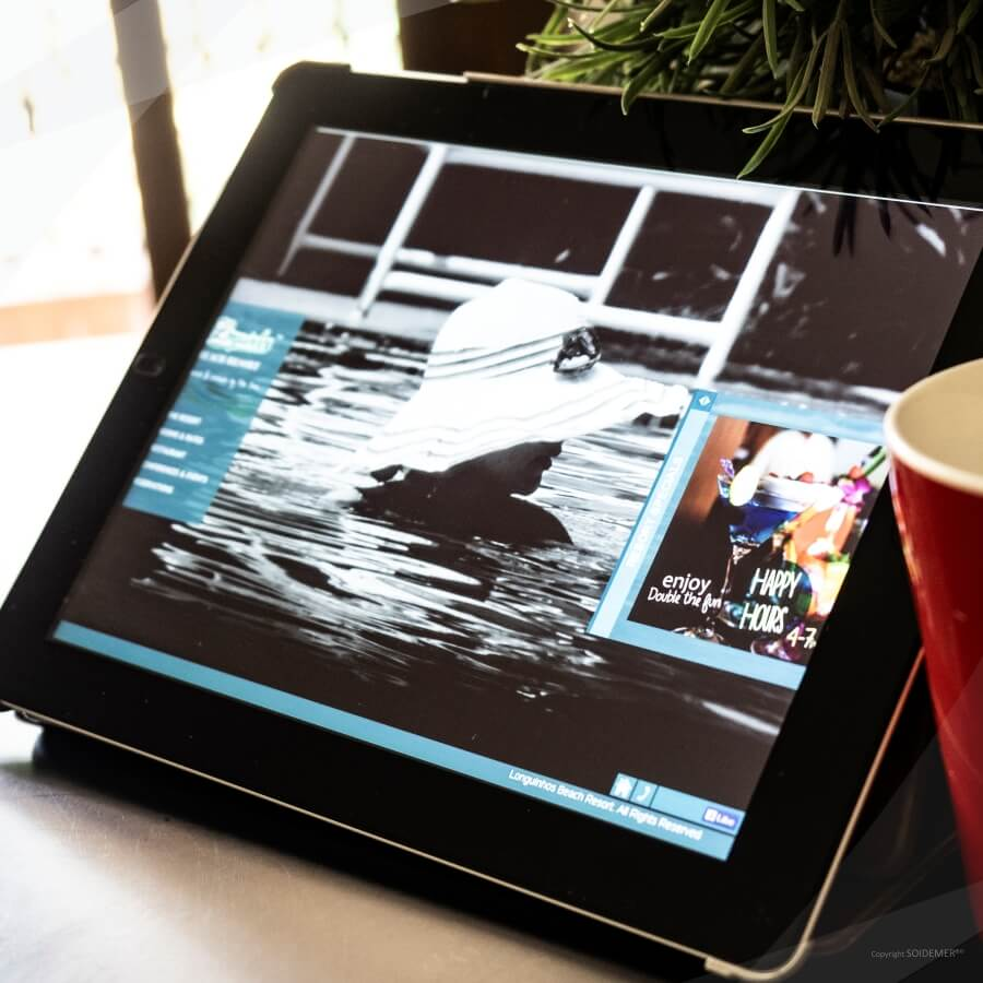 Photography and Website design and development for Longuinhos Beach Resort by Soidemer