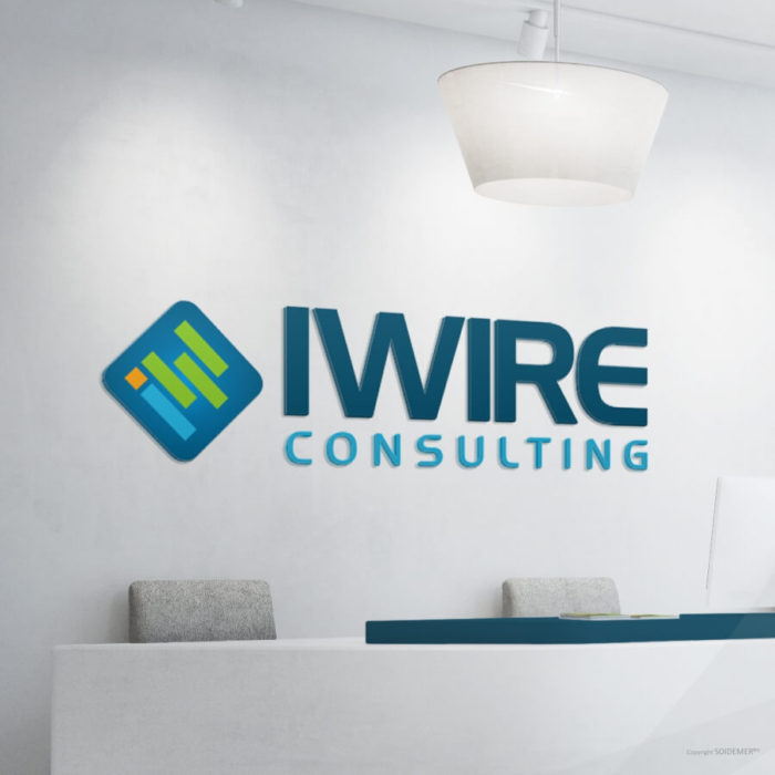 Logo and Identity for IWIRE Consulting Dubai by Soidemer