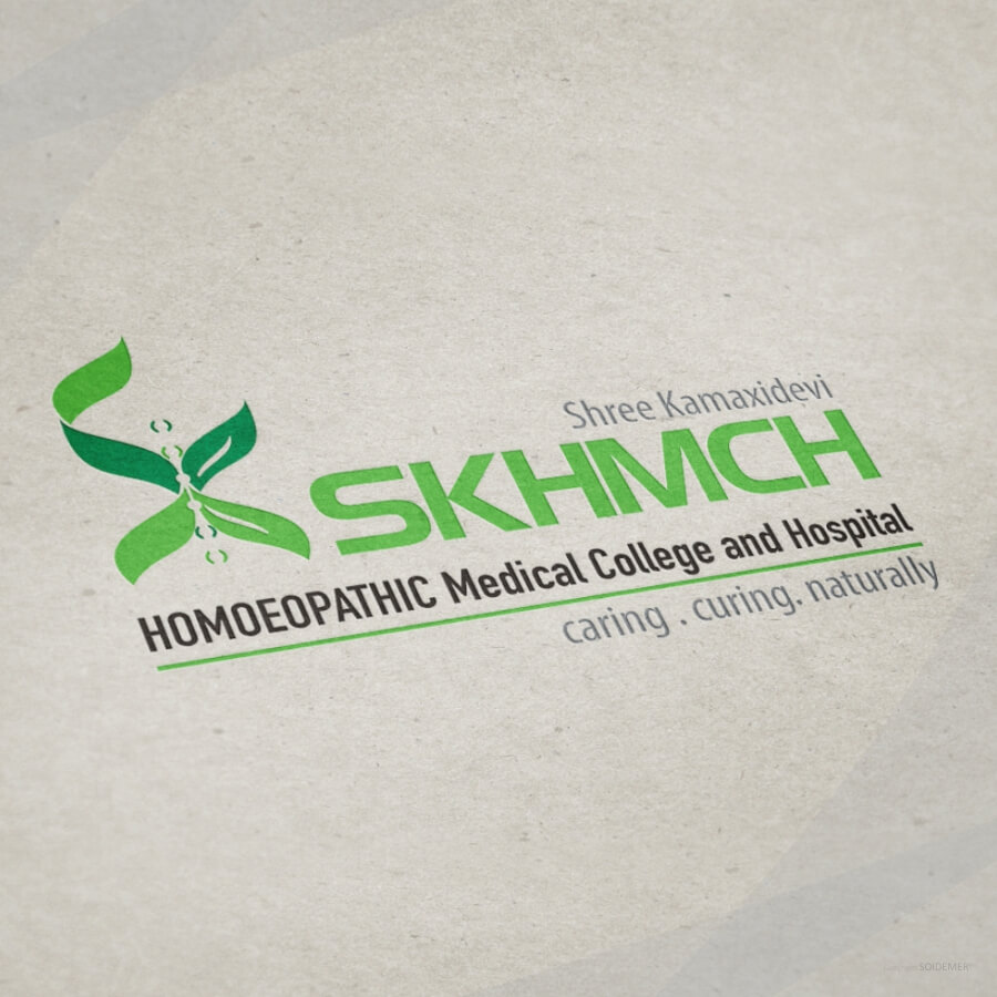 Logo for SKHMCH homoeopathic Medical College and Hospital by Soidemer