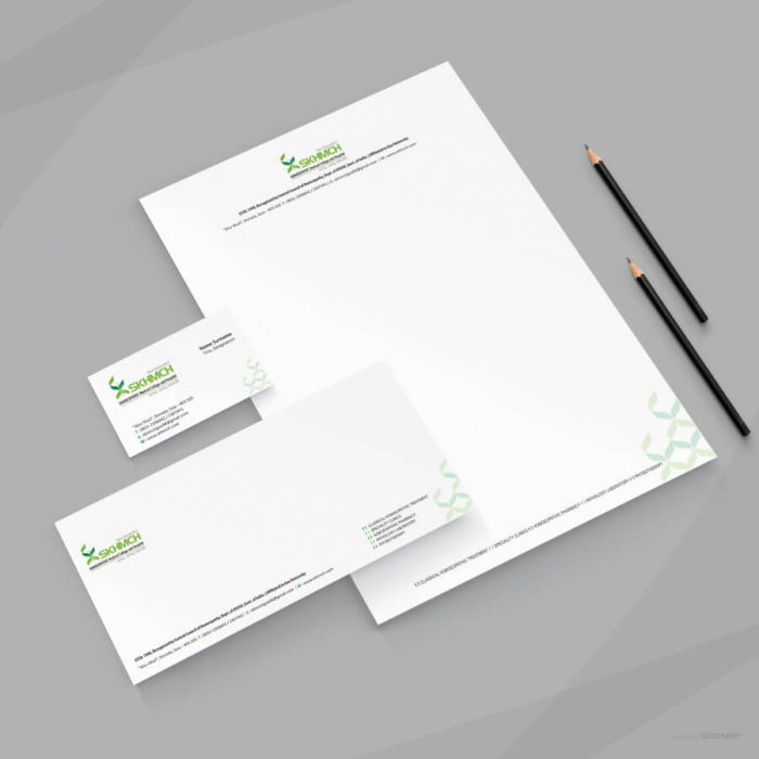 Logo and Identity for SKHMCH homoeopathic Medical College and Hospital by Soidemer