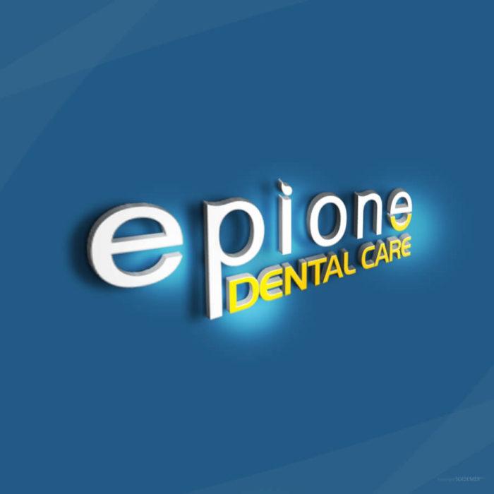 Logo Brand Mark for Epione Dental Care by SOIDEMER