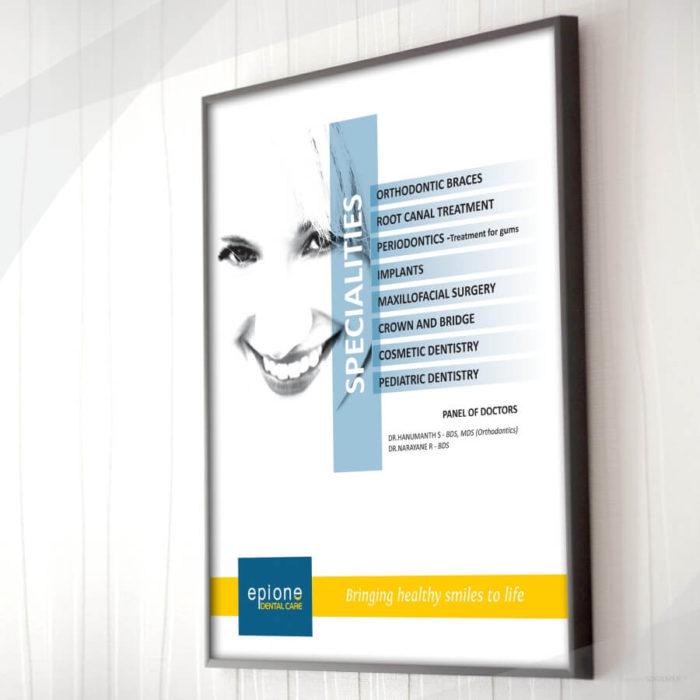 Branding for Epione Dental Care by SOIDEMER