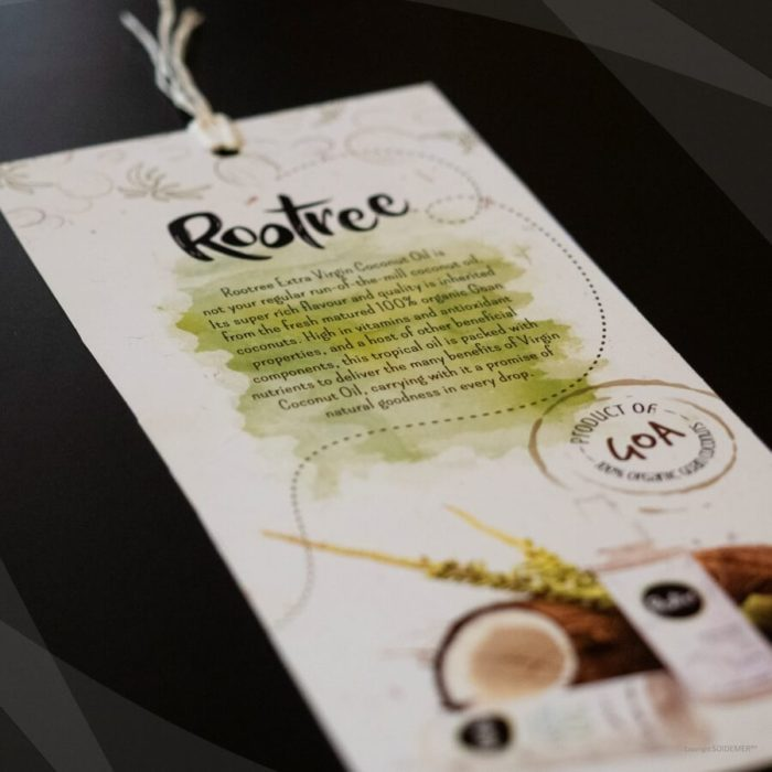 Flyer for Rootree designed by Soidemer