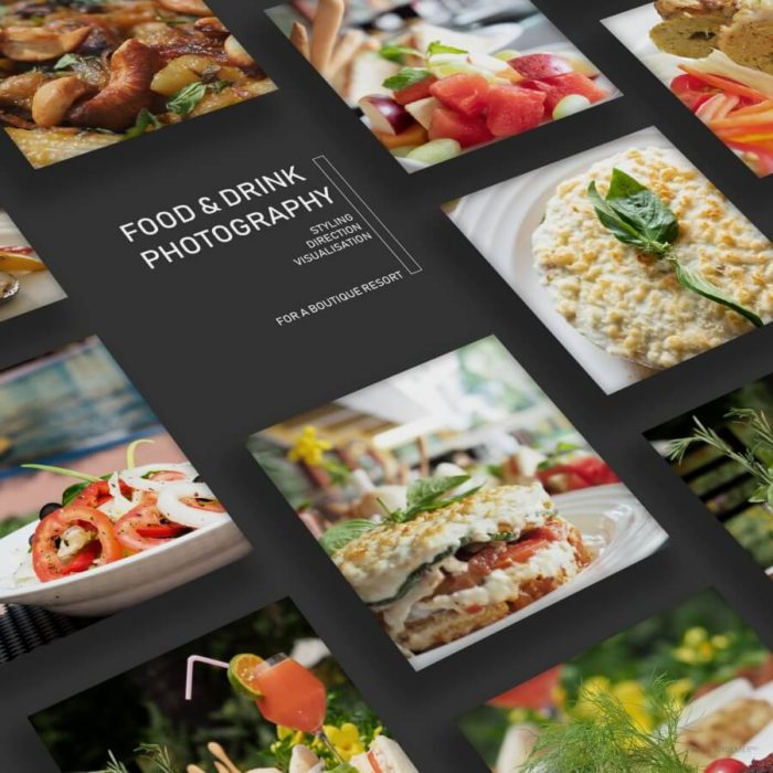 Food Photography for a Boutique Resort done by Soidemer