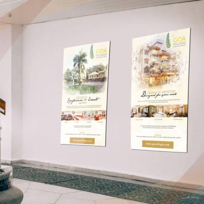Event Creatives for Goa Villagio designed by Soidemer