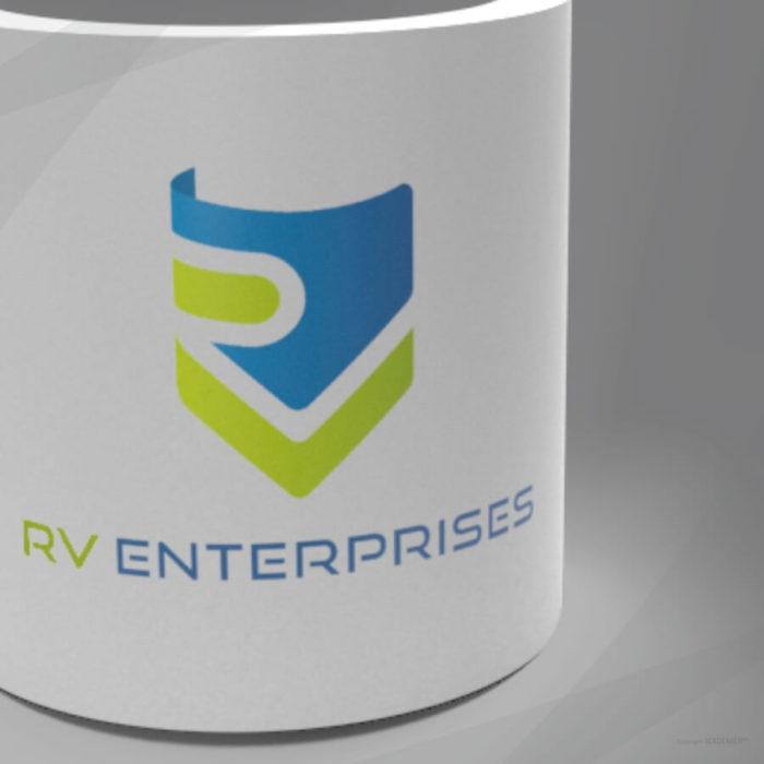 RV Enterprises Logo Designed by Soidemer